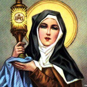 Oração para Santa Clara.