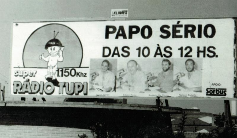 """Roberio de Ogum apresenta """"Papo Sério"""" com Sonia Abrão, na Radio Tupi:"""