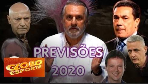 ROBERIO DE OGUM FAZ PREVISÕES PARA O FUTEBOL 2020 NO GLOBO ESPORTE