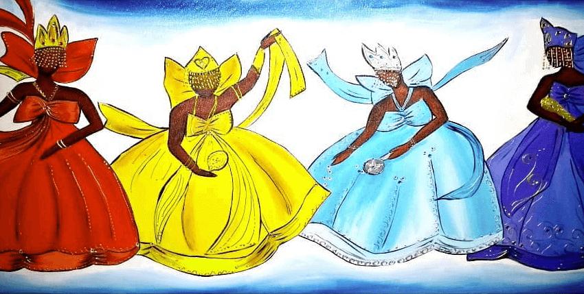 ORIXÁ DO DIA:SALVE TODAS AS YABÁS, ABENÇOADA SEJA A FORÇA FEMININA