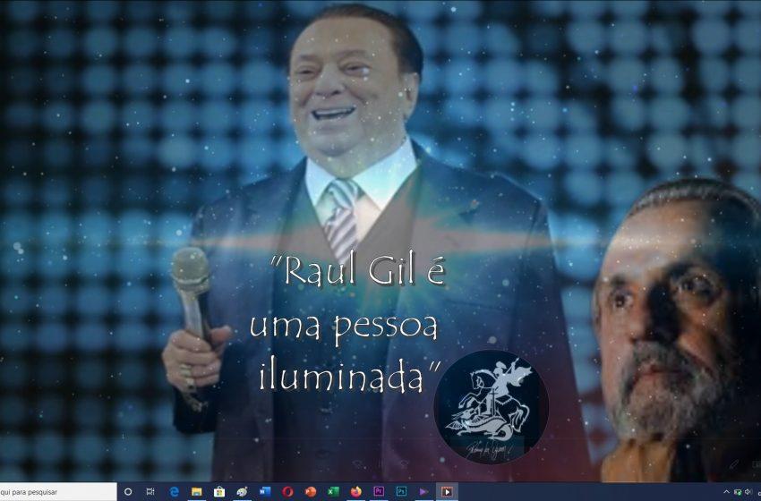 Roberio de Ogum acerta de novo: Raul Gil tem muita força espiritual