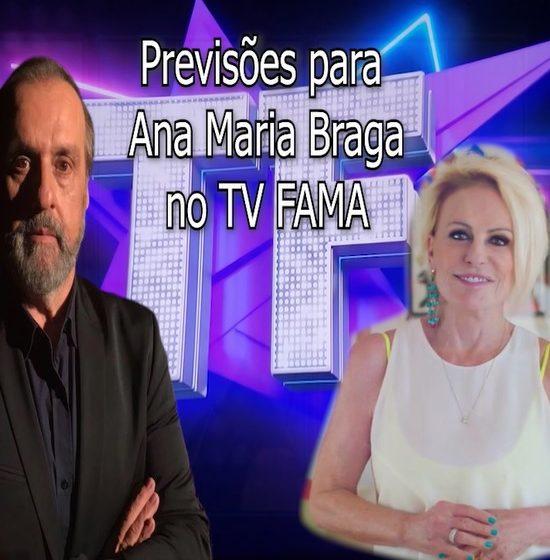 """Roberio de Ogum faz previsões para Ana Maria Braga        no """"Programa TVFAMA"""""""