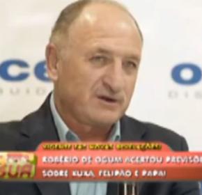 Robério acerta previsões sobre Felipão na seleção. Assista o vídeo!