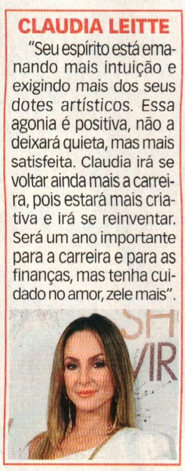 10- Claudia Leite