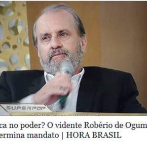 """ROBERIO DE OGUM NO SITE """"HORA BRASIL"""""""