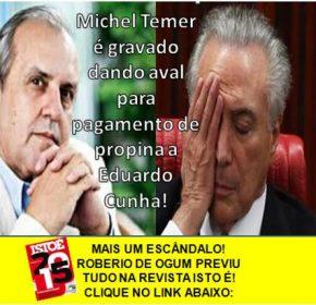 ROBERIO DE OGUM PREVIU TODOS OS ESCÂNDALOS QUE ESTÃO ACONTECENDO