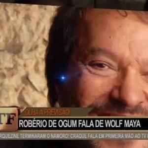 ROBERIO DE OGUM NA TV FAMA PRESTIGIA OOPPAH E FAZ PREVISÕES