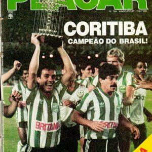 ERROU – CORITIBA F.C. É O CAMPEÃO BRASILEIRO DE 1985
