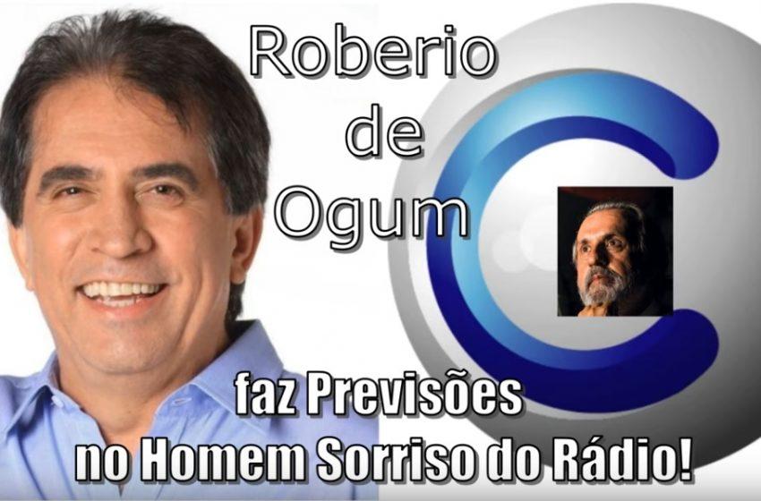 ROBERIO DE OGUM FAZ PREVISÕES PARA 2020 NO HOMEM SORRISO DO RÁDIO
