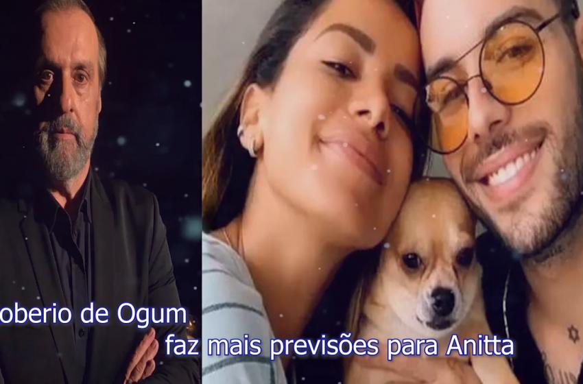 Roberio de Ogum faz mais previsões para Anitta